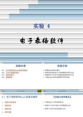实验04 电子表格软件.ppt