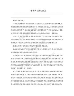 销售实习报告范文.doc