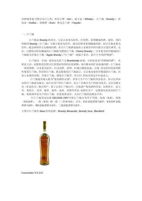 酒的基礎知識——六大基酒.doc