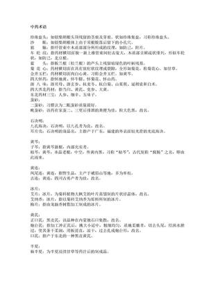 中药术语.doc