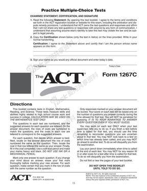 ACT试卷真题.pdf