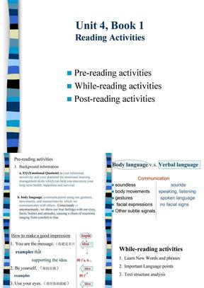 新视野大学英语第二版第一册课件unit4.ppt