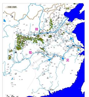《三国演义》地图+三国地名古今对照表.doc