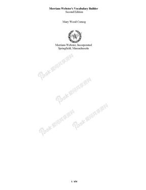 Merriam-Webster\'s Vocabulary Builder -pdf.docx