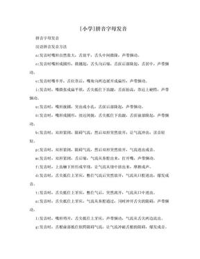 [小学]拼音字母发音.doc