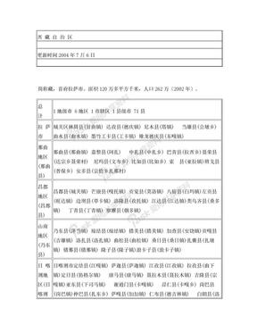 西 藏 自 治 区.doc