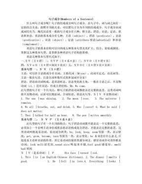高中英语句子结构、成分分析_直接打印版.doc