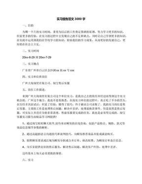 实习报告范文3000字.docx