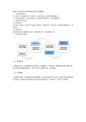 2014兰大诉讼法学考研模拟五套卷与答案解析.docx
