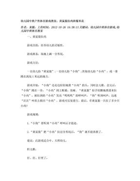 幼儿园中班户外体育游戏教案.doc