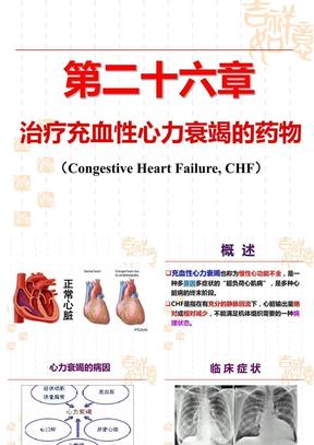 治疗充血性心力衰竭的药物.ppt