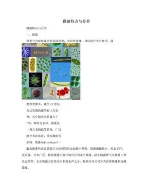 微藻特点与分类.doc