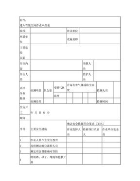 进入有限空间作业审批表.doc