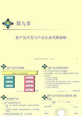 新产品开发与产品生命周期策略.ppt