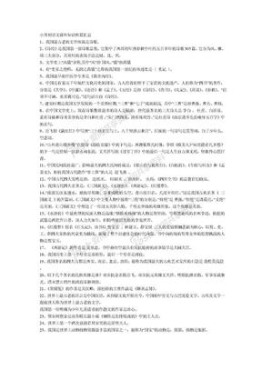 小升初语文课外知识积累汇总.doc