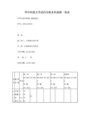 大学成绩单-样本.doc