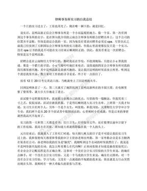 律师事务所实习的自我总结.docx