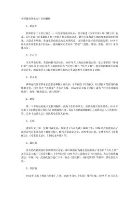 中国新闻事业史名词解释.doc