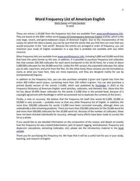 美国当代英语语料库2万词频表.pdf