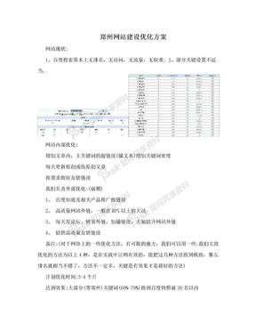 郑州网站建设优化方案.doc