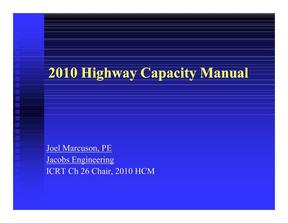 美国2010年高速公路交通量手册_2010 Highway Capacity Manual.pdf