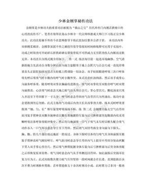 少林金刚掌秘传功法.doc