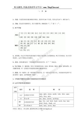英语音标发音规则表2.doc