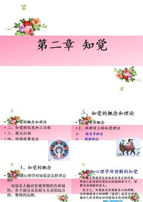 第二章_认知心理学_知觉.ppt