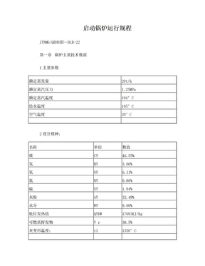 20T启动锅炉操作规程.doc