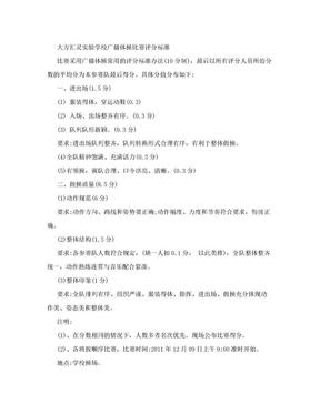 广播体操比赛评分标准.doc