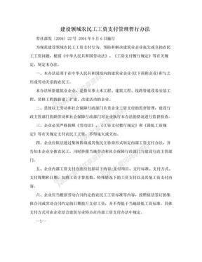 建设领域农民工工资支付管理暂行办法.doc