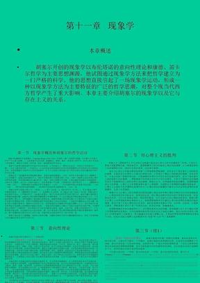 现代西方哲学ppt11.ppt