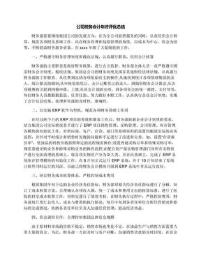 公司税务会计年终评优总结.docx