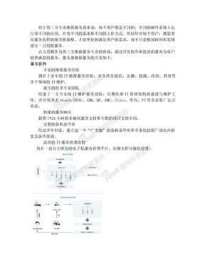 服务器维保方案——IT外包.doc