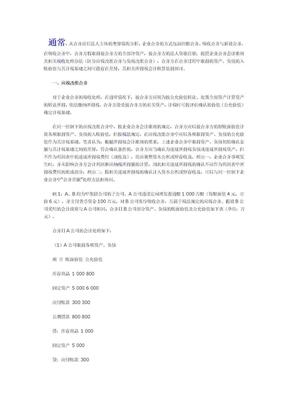 企业吸收合并中的所得税会计问题探讨.doc