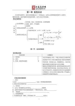 高中物理必修1第一章_直线运动.pdf