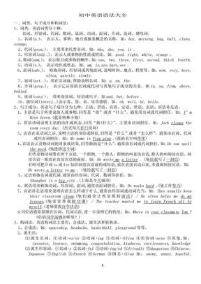 初中英语语法大全.doc