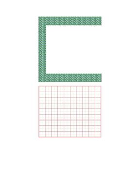 精美钢笔书法比赛用纸(田字格A4).doc