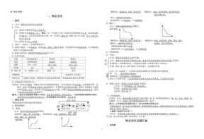 【中考物理第一轮复习资料】一.物态变化.doc