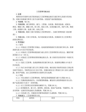 生产工艺管理制度考核办法.doc