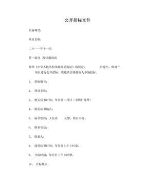 工程招标文件.doc