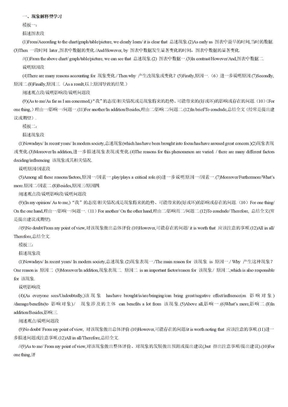 英语写作模板.doc