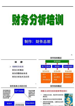 [企业会计]财务分析培训材料(非常有用).ppt