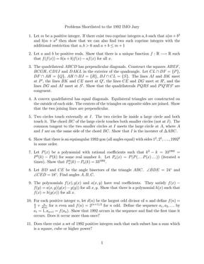 IMO预选题1992(shortlist).pdf