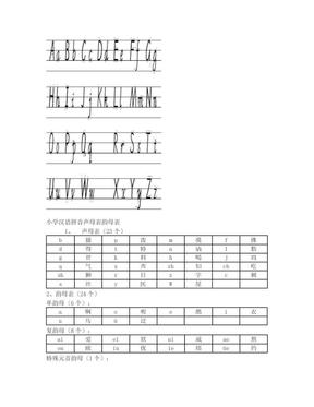 26个英文字母大小写(书写顺序).doc