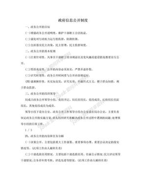 政府信息公开制度.doc
