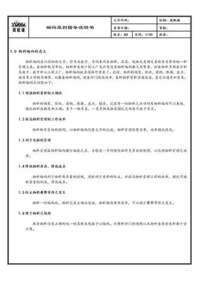 编码规则-手机行业.doc