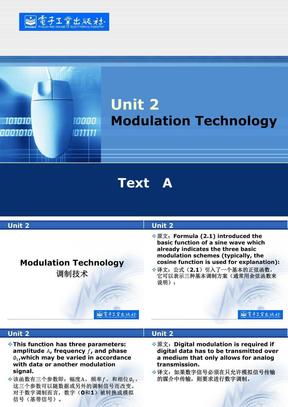通信与电子信息工程专业英语第2单元.ppt