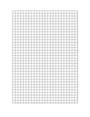 硬笔书法用正宗米字格模板 A4纸打印即用.doc