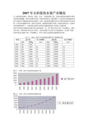 太阳能热水器产业报告.doc